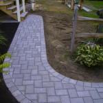 Paver Walkway Path